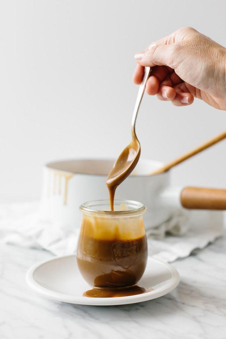 Salted Caramel Sauce Vegan Dairy Free Paleo