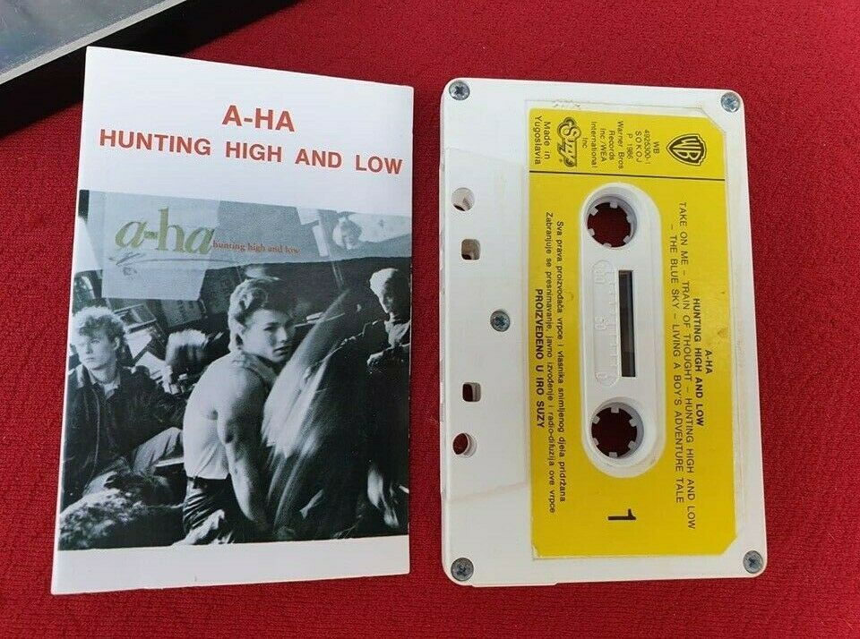 A Ha Hunting High And Low 1986 Yugoslavia Suzy Synth Pop Morten