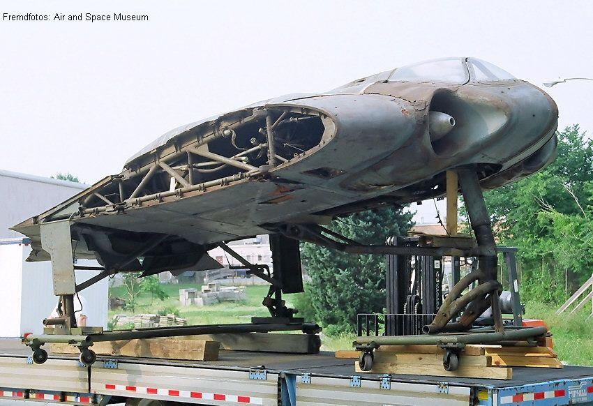 Horten H Ix Das Erste Tarnkappenflugzeug Als Nurflügler Auch