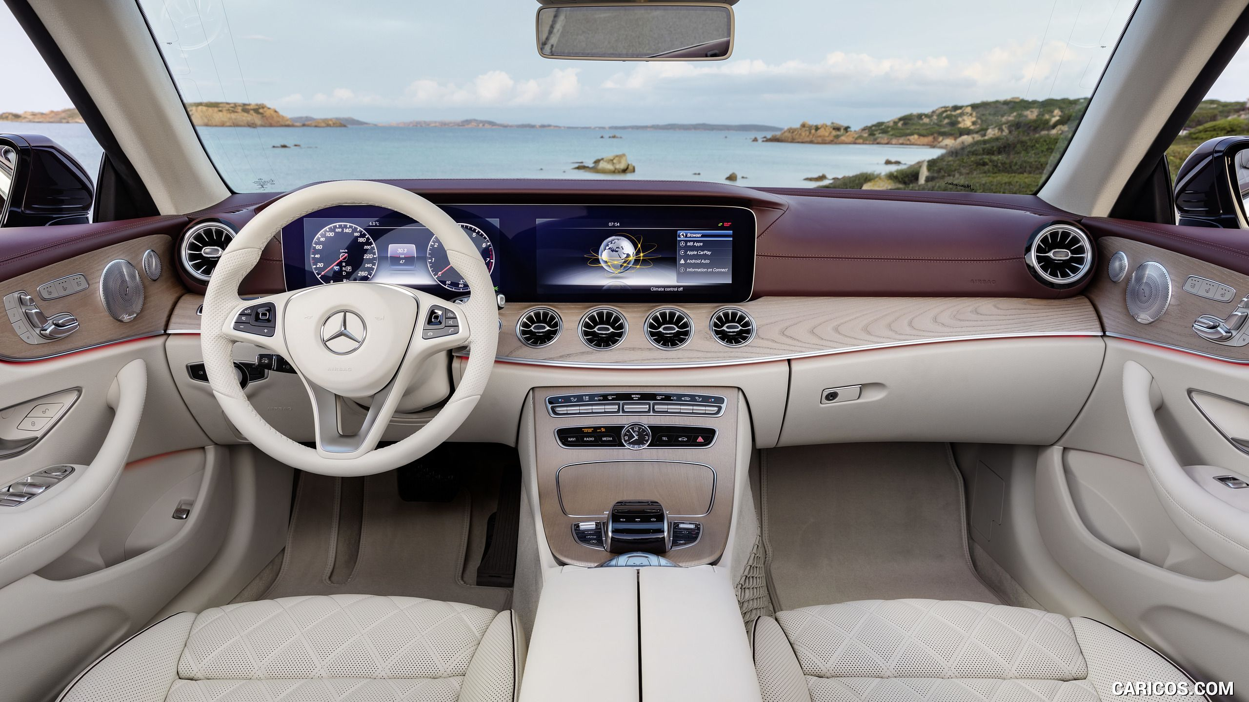 2018 Mercedes Benz E Class Cabrio Wallpaper With Images