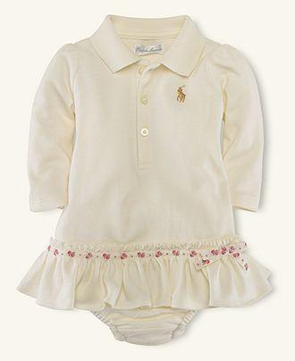 8ffee2a9 Ralph Lauren Baby Dress, Baby Girls Polo Dress - - Macy's | -love<3 ...