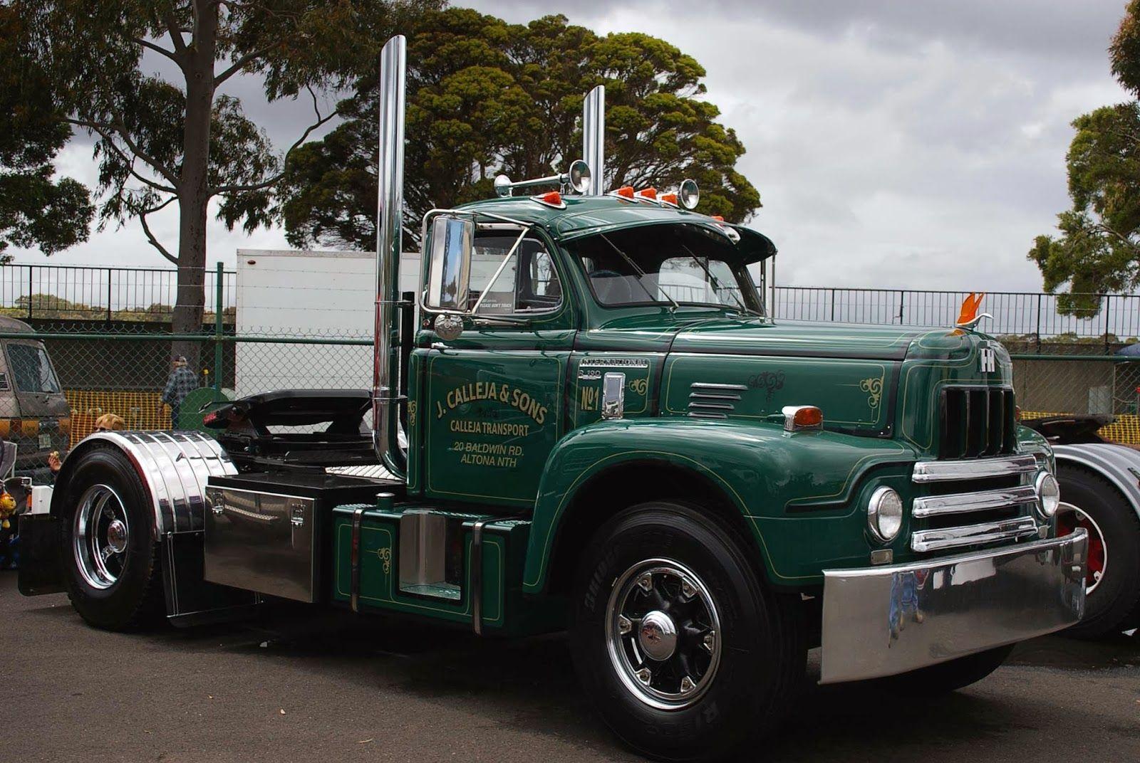 International R190 Single Drive International Harvester Truck International Truck Built Truck