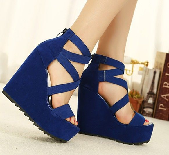 NEW CLEAR SNEAKERS 2013  Free shipping 2013 platform pumps wedges