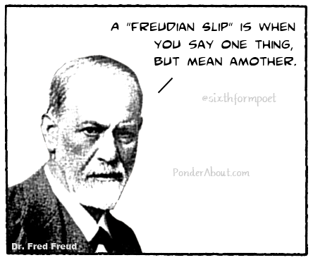Freudian Slip   Humor   Pinterest   Psych, Laughter and Hilarious