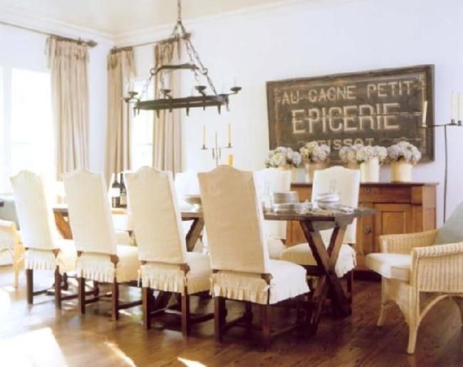 Room DIY Dining Chair Covers