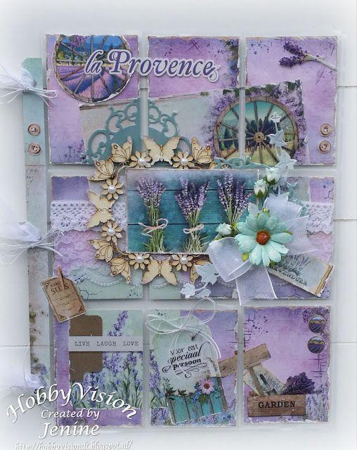 Jenine's Card Ideas: Pocket Letter La Provence