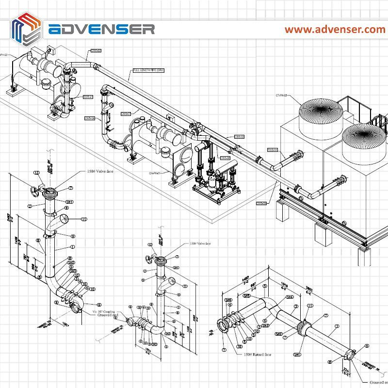 Pin on HVAC/BIM | Hvac Isometric Drawing |  | Pinterest