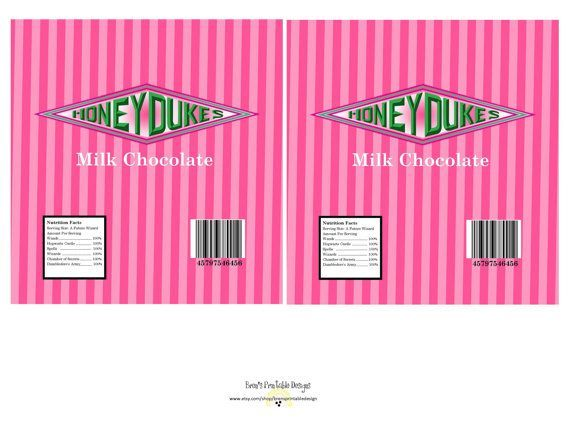 It's just a picture of Handy Honeydukes Free Printable Labels
