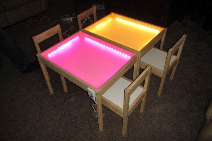 schicke lichteffekte f r deine ikea m bel diy indoor. Black Bedroom Furniture Sets. Home Design Ideas