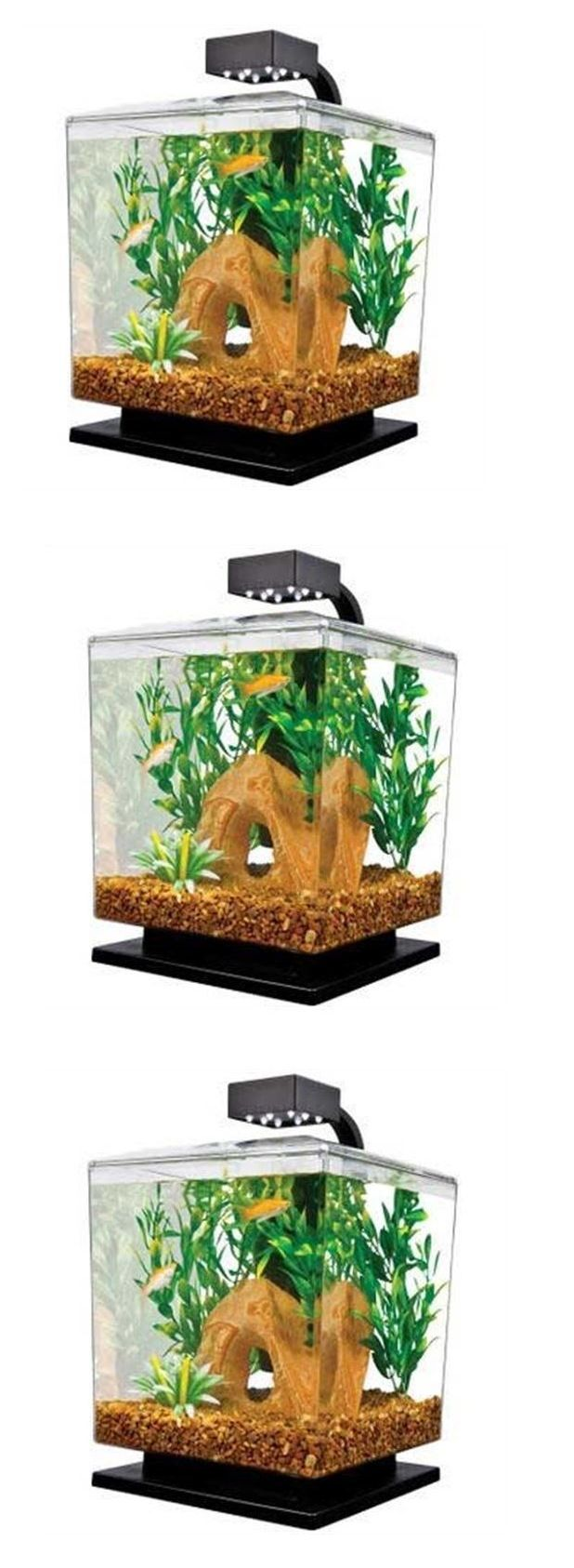 Aquarium fish tank starter kit - Animals Fish And Aquariums Aquarium Starter Kit Fish Tank Led Betta Filter Light Water Marina