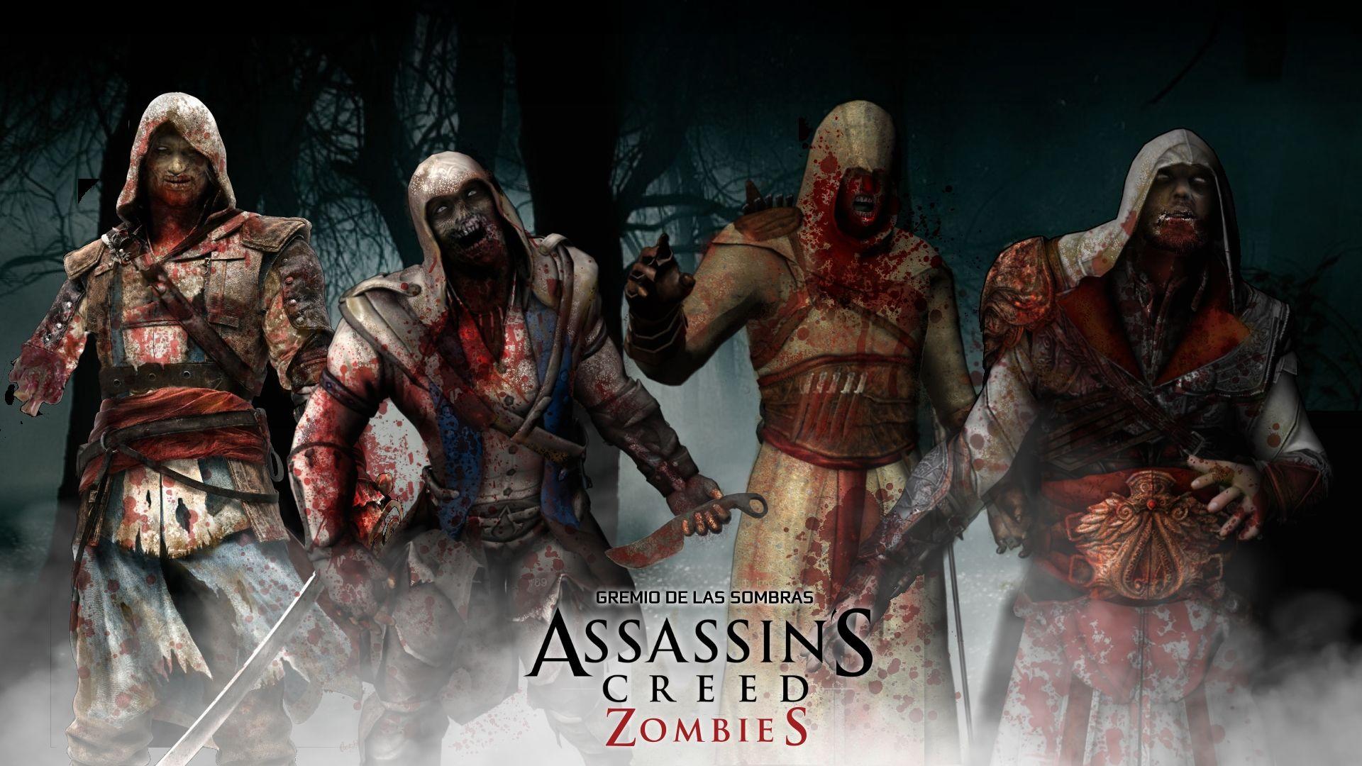 Assassin S Creed Zombies Nooooooooo They Will Never Die