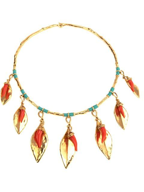 Shop Aurelie Bidermann 'Monteroso' necklace in Smets from the world's best independent boutiques at farfetch.com. Over 1000 designers from 300 boutiques in one website.