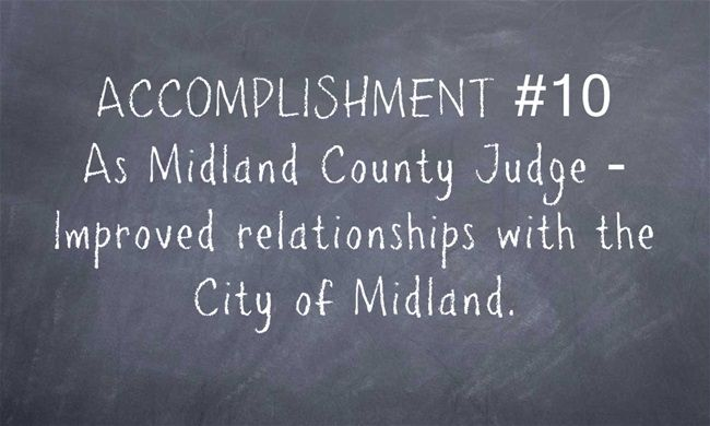 Improved Relationships With The City Of Midland How To Improve Relationship Relationship Midland