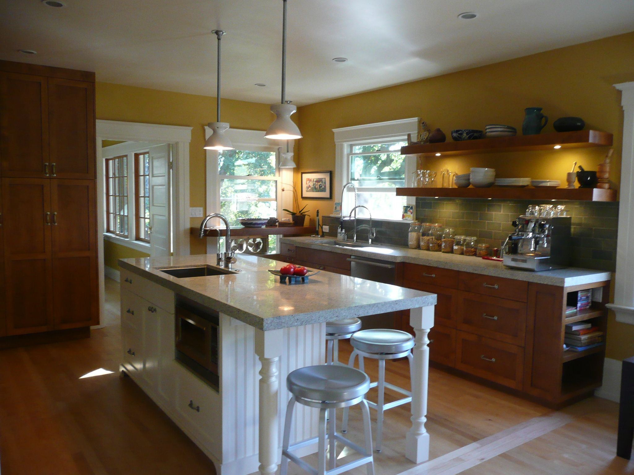 Contemporary Kitchen By Canyon Design Build Oakland Ca