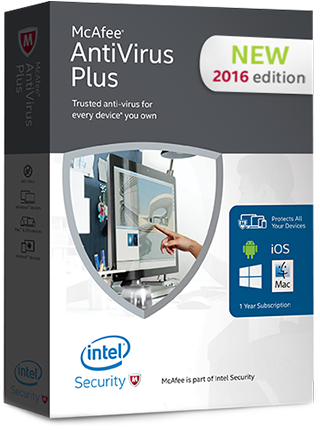[IT'S FREE!!] McAfee AntiVirus Plus 2016 Licença de 6