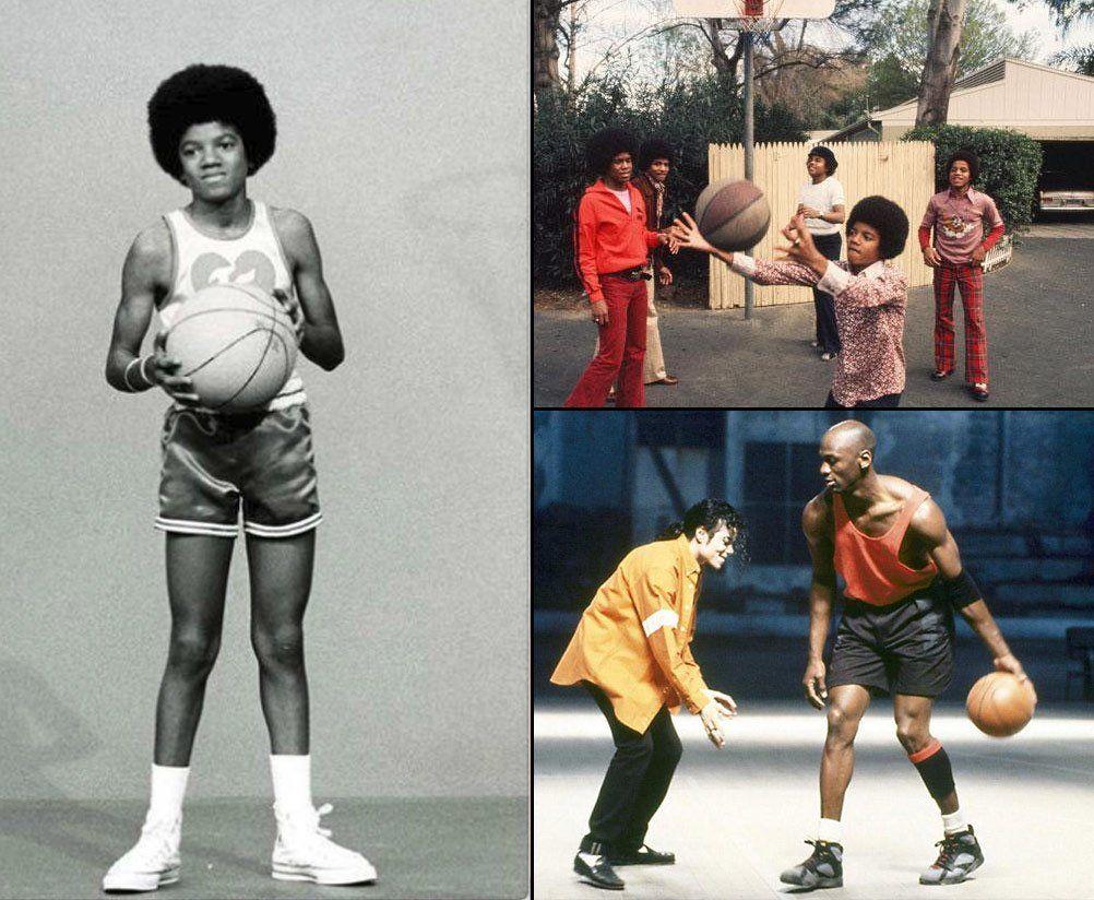 le dernier 827f6 2531d MJ with MJ Michael Jackson with Michael Jordan | My favorite ...