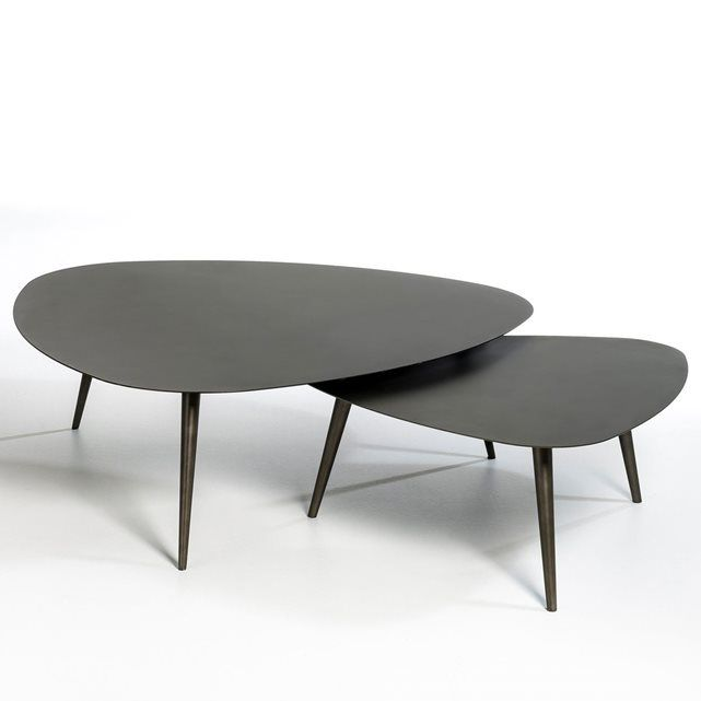 Table Basse Petite Taille Theoleine Table Basse Table Basse Gigogne Table Basse Noire