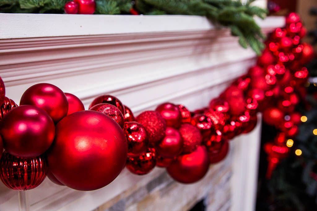 Ken Wingard S Diy Christmas Ornament Garland Christmas Garland Christmas Diy Christmas Wreaths