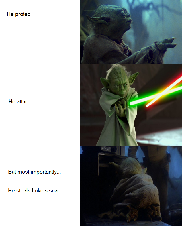 find this meme quite wholesome Funny star wars memes