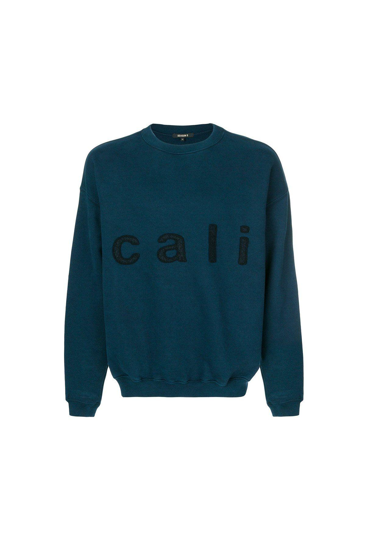 Yeezy Season 5 Cali Sweatshirt Sweatshirts Mens Sweatshirts Clothes Design [ 1812 x 1208 Pixel ]
