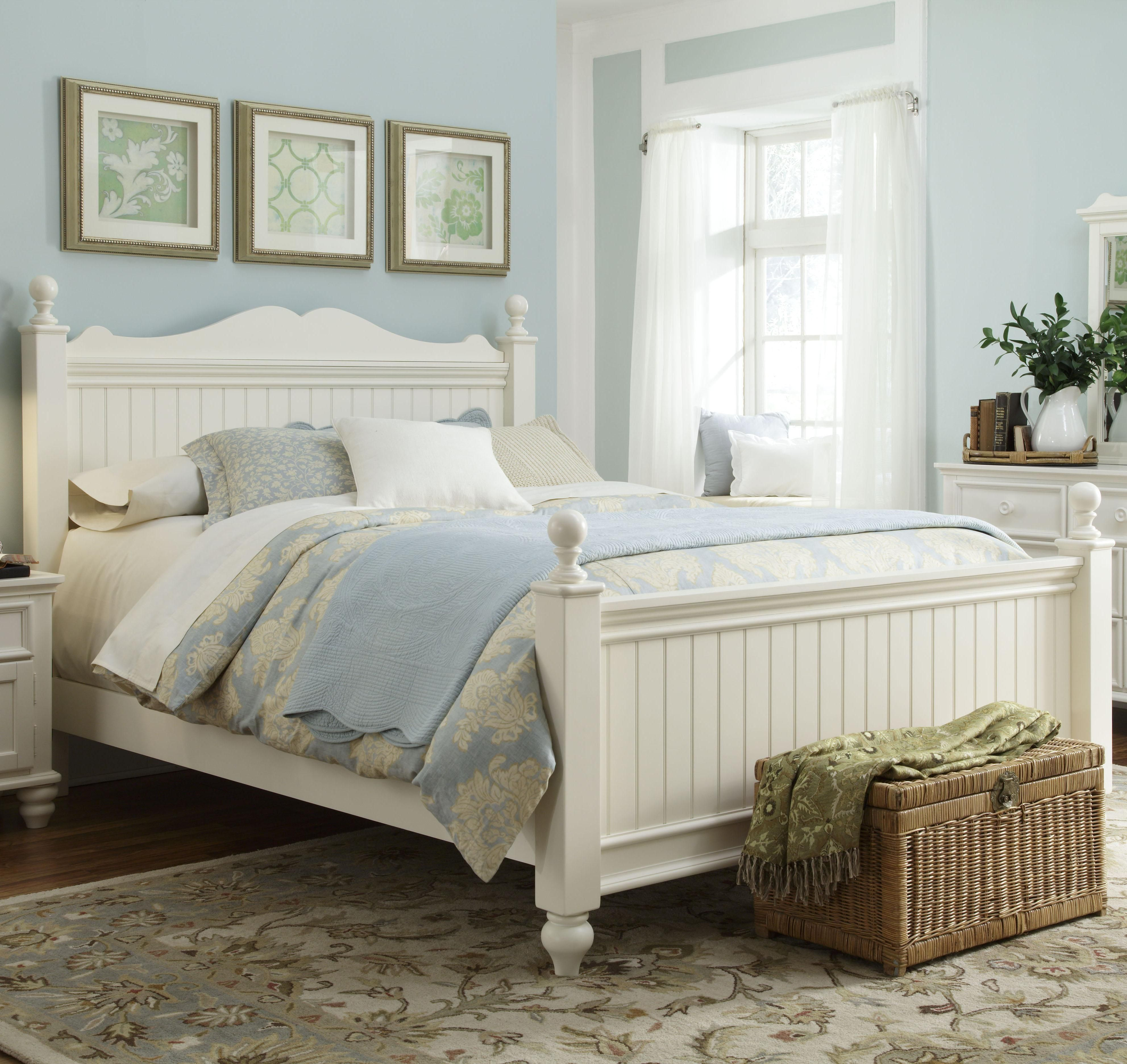 Summer Breeze Queen Low Poster Bed by Legacy Classic Kids