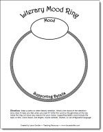 literacy mood ring graphic organizer freebie from laura candler 39 s teaching resources. Black Bedroom Furniture Sets. Home Design Ideas