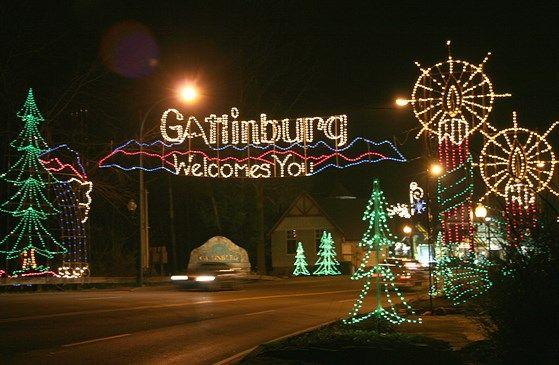 Gatlinburg Winter Magic Trolley Ride Of Lights Gatlinburg Christmas Gatlinburg Vacation Smoky Mountain Christmas