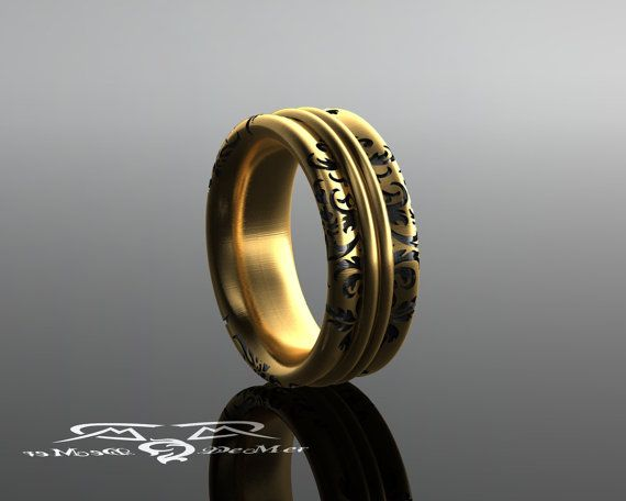 The Most Comfortable Ring Youll Ever Wear Solid gold with