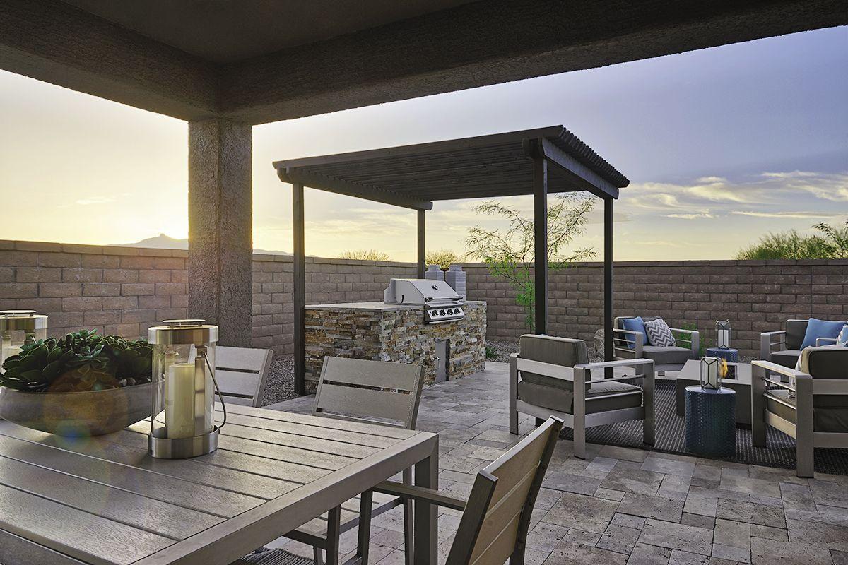 richmond american homes backyard