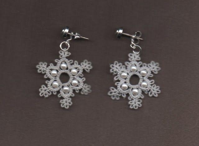 Le Blog de Frivole: Snowflake Earrings
