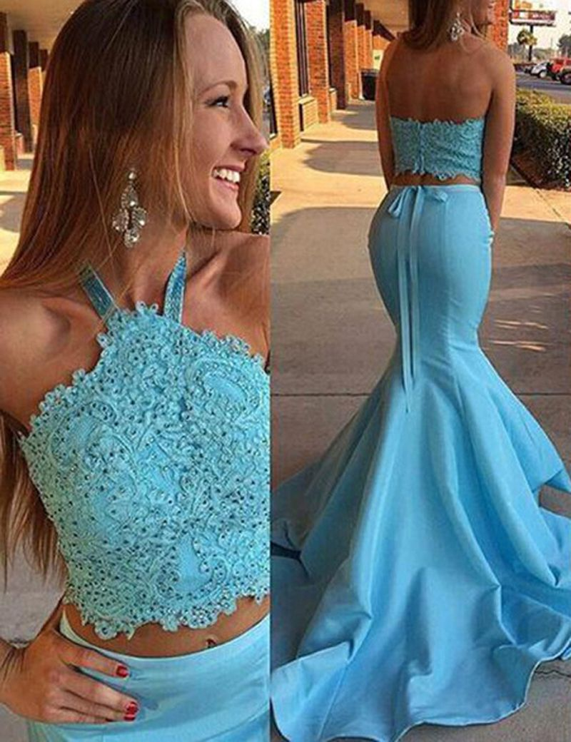 Prom dressesevening dressparty dresseschic two piece mermaid