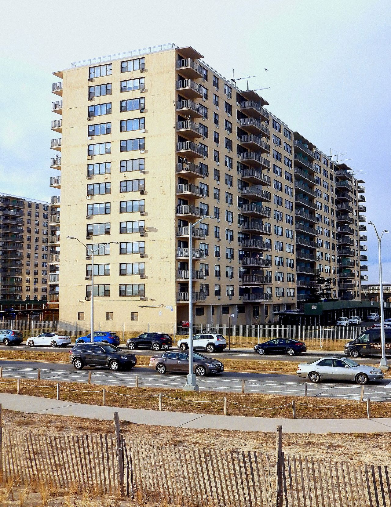 An Apartment Building In Rockaway Beach Queens Streetscapes