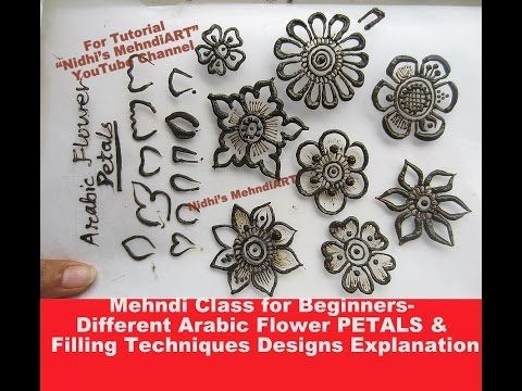 Mehndi Class For Beginners Basic Tips Tricks For Paisley Shape In