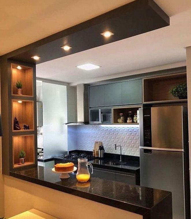 19 The Most Popular Half Wall Kitchen Design Ideas Zaradesignhomedecor Com Kitchen Design Color Kitchen Inspiration Design Kitchen Room Design Most popular kitchen room decoration