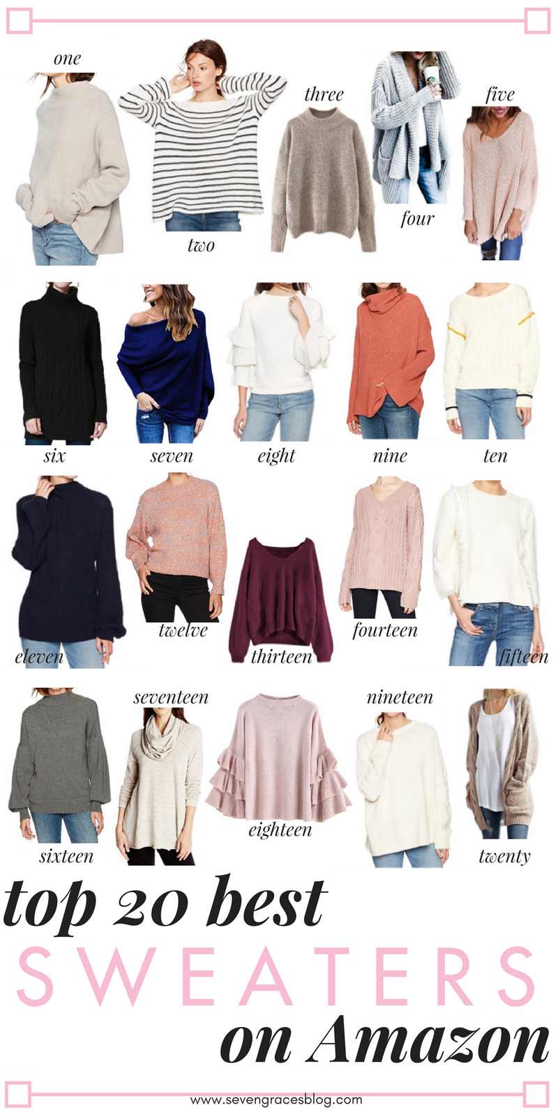 641357b1ced3b1 The best Amazon fashion sweaters. All the best sweaters you ll want this  winter all from Amazon! The best sweaters for work or everyday wear.