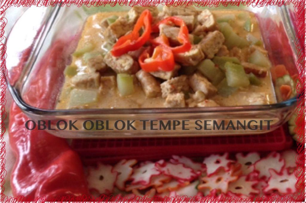 Oblok Oblok Tempe Semangit Food Indonesian Food Meat