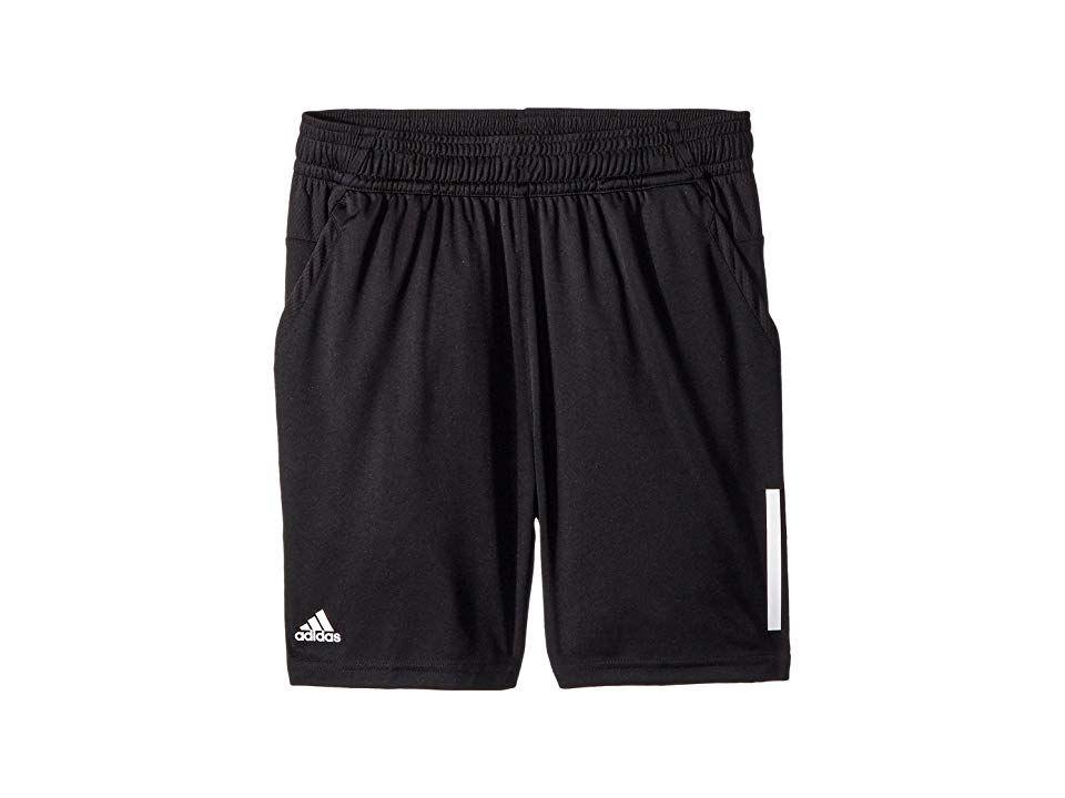 4ea48555b8b22 adidas Kids 3-Stripes Club Shorts (Little Kids/Big Kids) Boy's ...
