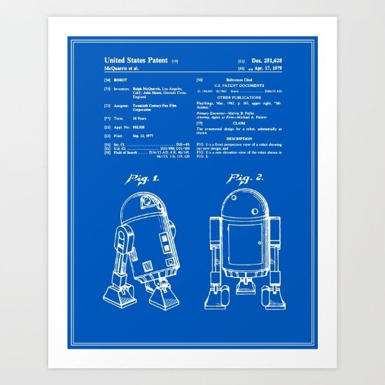 Collect your choice of gallery quality gicle or fine art prints patent blueprint art print by finlay mcnevin malvernweather Choice Image