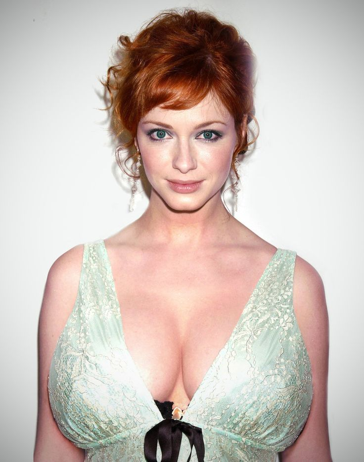 Christina hendricks big breasts