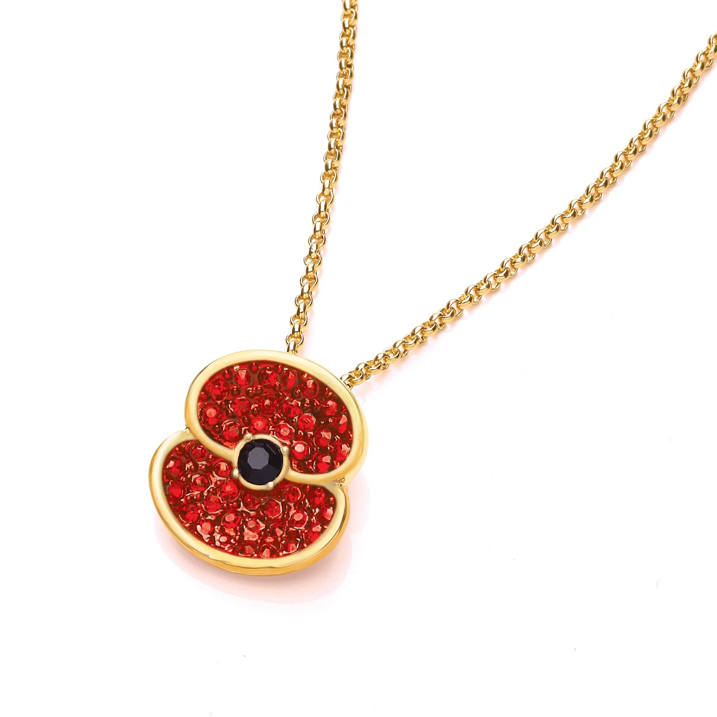 Buckley Sparkle Poppy Pendant Poppy brooches, Poppy