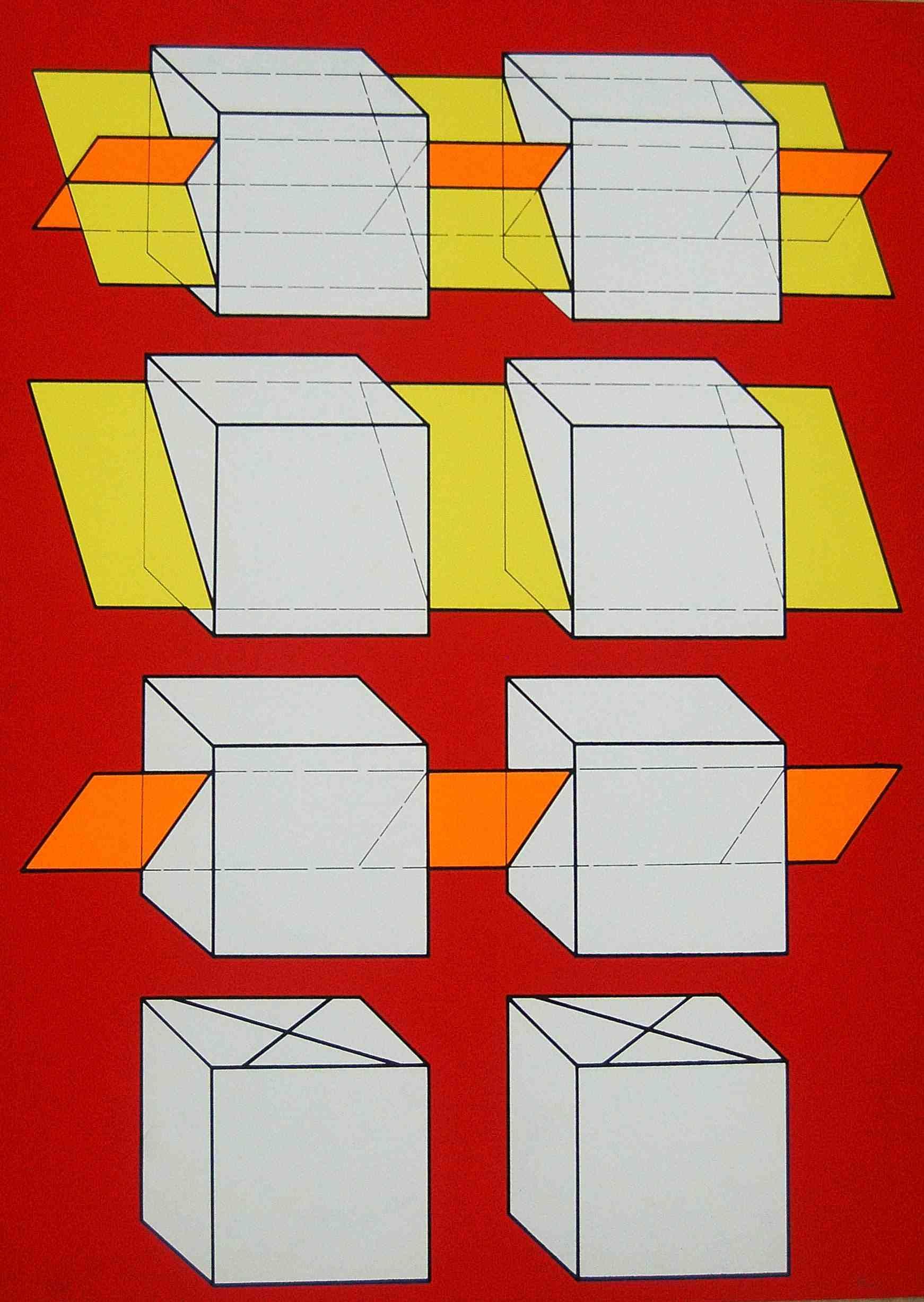 Walter Fusi, anni '70, serigrafia, 70x50, tiratura 70