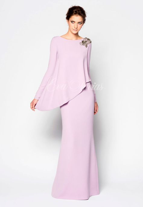 vestido de fista o madrina de la firma victoria coleccion 2017