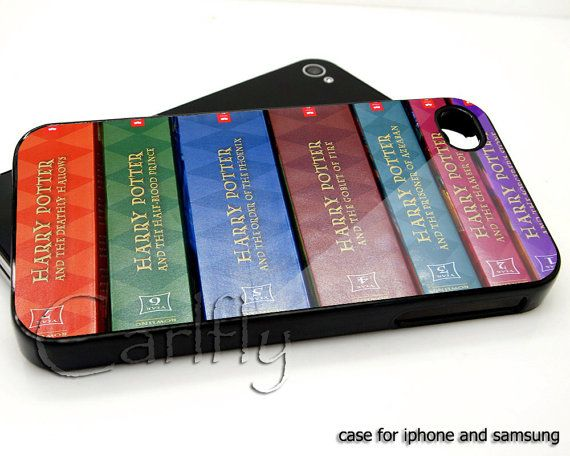 Harry Potter Books iPhone case