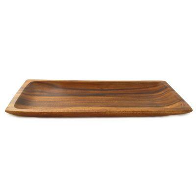 Travessa retangular em madeira - Eco :: Cottage Decora