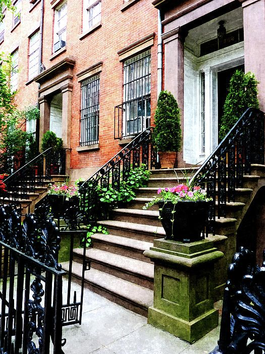 Chelsea Brownstone Susan Savad Jpg Rent Direct Nyc