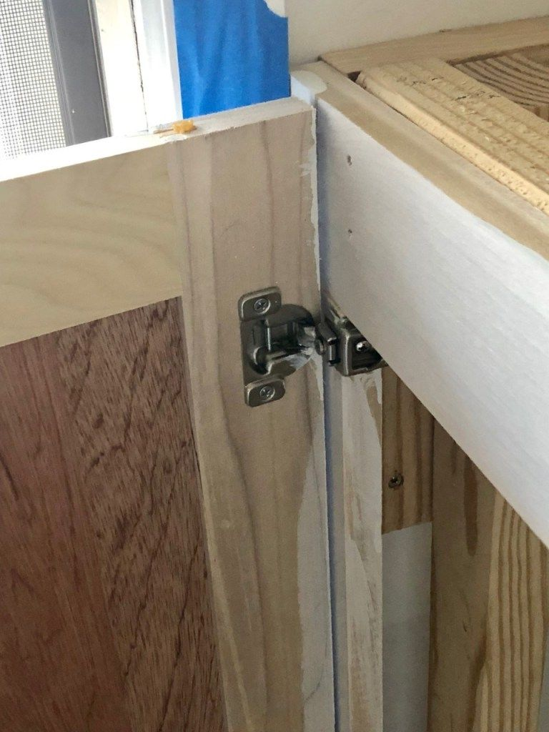 Diy Kitchen Cabinets For Under 200 A Beginner S Tutorial Diy Cabinet Doors Diy Kitchen Cabinets Homemade Cabinets