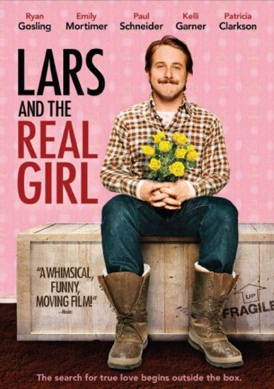 Lars and the Real Girl (A Garota Ideal).  Different script. Beautiful film of great sensitivity.  Roteiro diferente. Belo filme de grande sensibilidade.