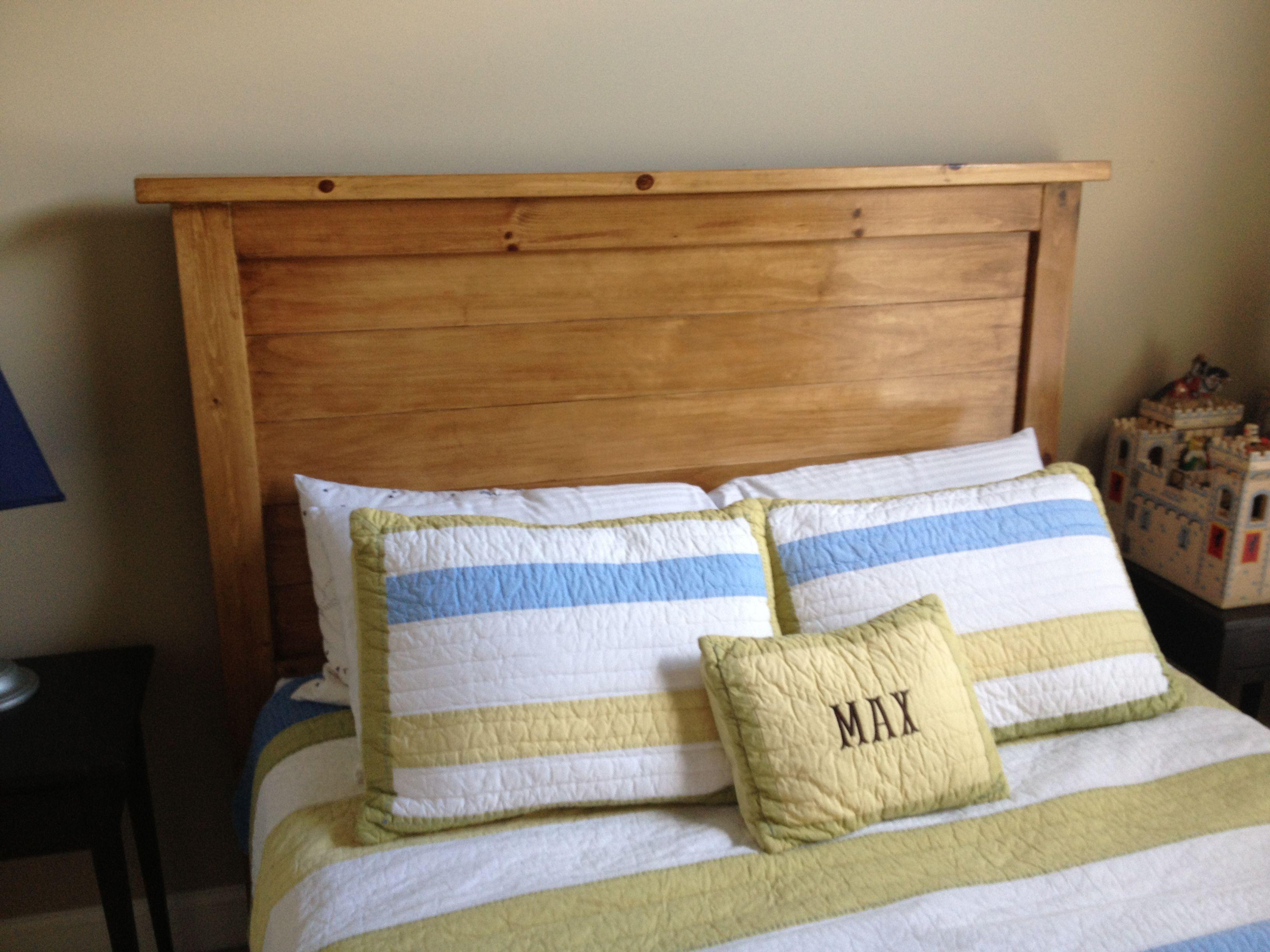Knotty pine headboard   Home bedroom, Headboard, Pine ...