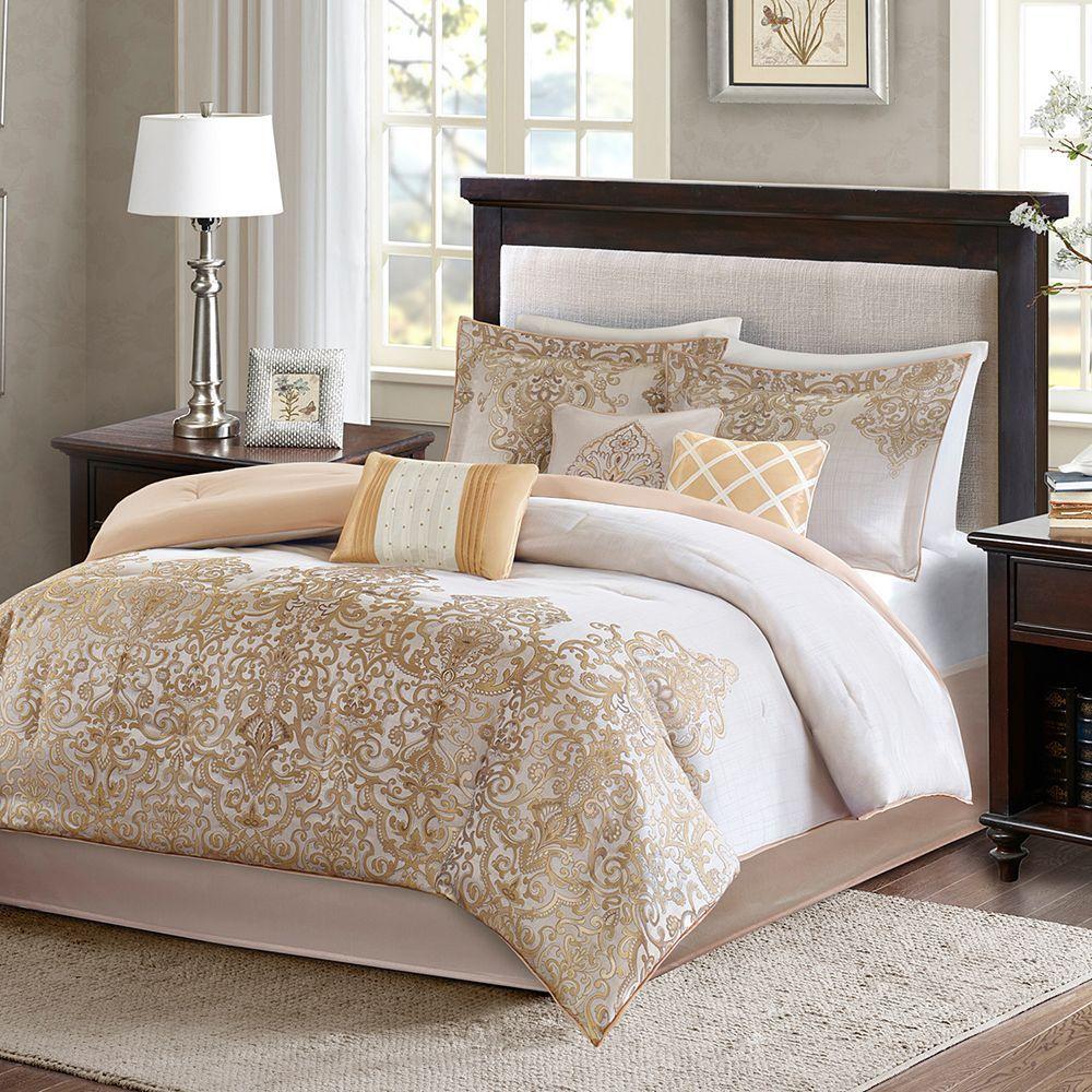 Madison Park Apartments California: Madison Park Shauna 7-pc. Comforter Set