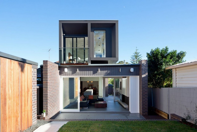 Modern Two Story House Small Is Beautiful In The Way You: modern two story homes